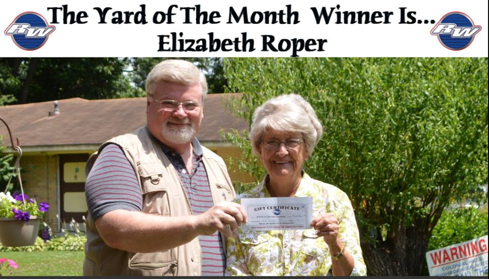 Yard Of The Month And Good Neighbor Awards In Colonial Hills